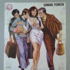 Cine: CARTEL CINE ORIGINAL - GRACIAS... ABUELITA - EDWIGE FRENECH - VALERIO FIORAVANTI - AÑO 1978...L3487. Lote 246459925