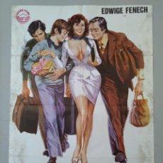 Cine: CARTEL CINE ORIGINAL - GRACIAS... ABUELITA - EDWIGE FRENECH - VALERIO FIORAVANTI - AÑO 1978...L3488. Lote 246460470