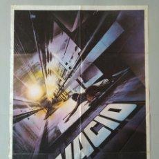 Cine: CARTEL CINE ORIGINAL - VACIO - RENEE SOUTENDIJK - GÖTZ GEORGE - AÑO 1985...L3493. Lote 246466320