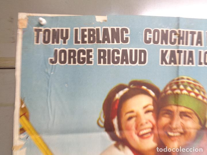 Cine: AAT83 AMOR BAJO CERO TONY LEBLANC CONCHA VELASCO ESQUI SKIING POSTER ORIGINAL 70X100 ESTRENO - Foto 2 - 246488065