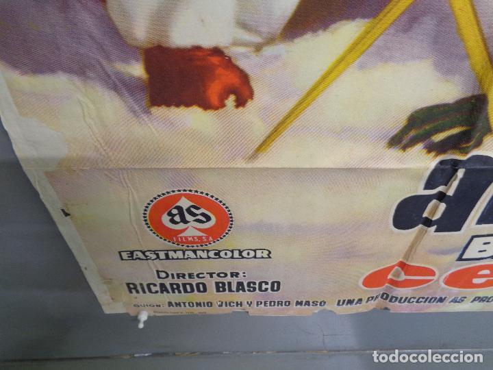 Cine: AAT83 AMOR BAJO CERO TONY LEBLANC CONCHA VELASCO ESQUI SKIING POSTER ORIGINAL 70X100 ESTRENO - Foto 5 - 246488065