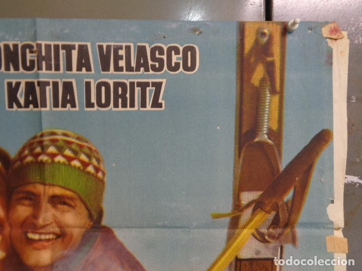 Cine: AAT83 AMOR BAJO CERO TONY LEBLANC CONCHA VELASCO ESQUI SKIING POSTER ORIGINAL 70X100 ESTRENO - Foto 6 - 246488065