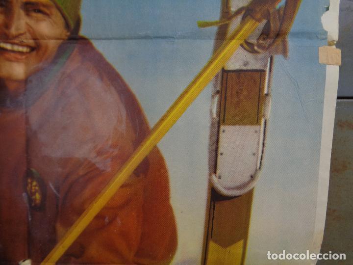 Cine: AAT83 AMOR BAJO CERO TONY LEBLANC CONCHA VELASCO ESQUI SKIING POSTER ORIGINAL 70X100 ESTRENO - Foto 7 - 246488065