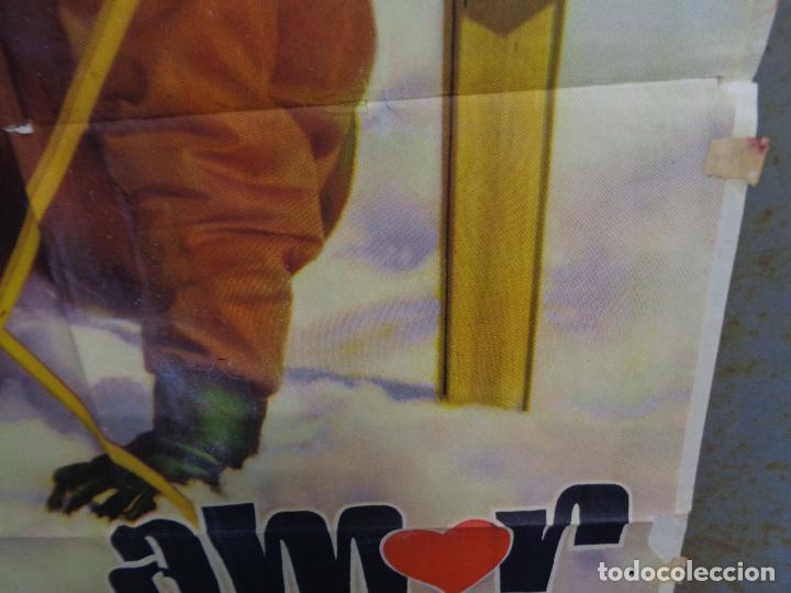 Cine: AAT83 AMOR BAJO CERO TONY LEBLANC CONCHA VELASCO ESQUI SKIING POSTER ORIGINAL 70X100 ESTRENO - Foto 8 - 246488065