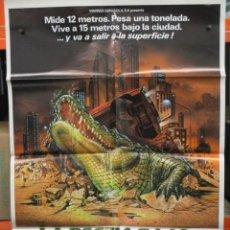 Cine: CARTEL ORIGINAL - LA BESTIA BAJO EL ASFALTO -.100 X 70. Lote 246524195