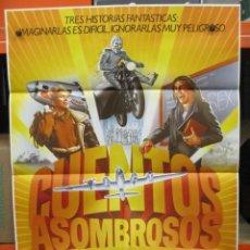 Cine: CARTEL ORIGINAL - CARTEL ORIGINAL - CUENTOS ASOMBROSOS - STEVEN SPIELBERG - 100 X 70. Lote 246548490