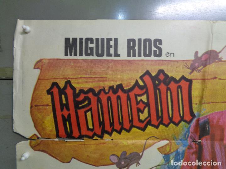 Cine: CDO 9230 HAMELIN MIGUEL RIOS JANO POSTER ORIGINAL ESTRENO 70X100 - Foto 2 - 246552195