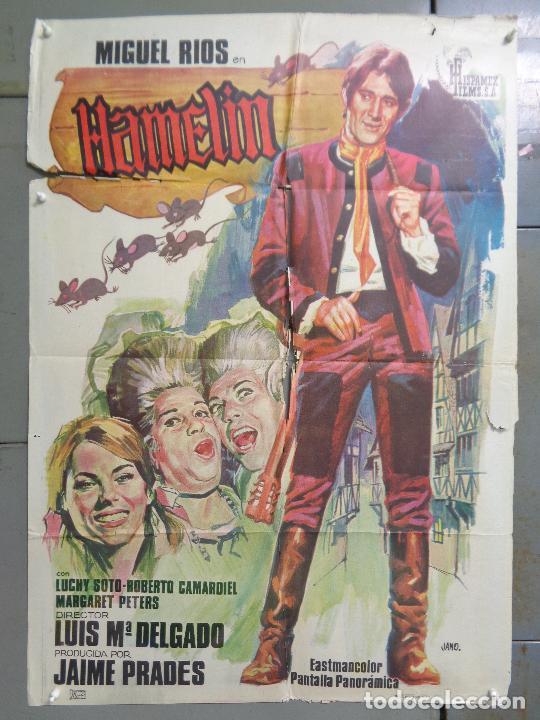 CDO 9230 HAMELIN MIGUEL RIOS JANO POSTER ORIGINAL ESTRENO 70X100 (Cine - Posters y Carteles - Musicales)
