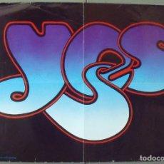 Cine: OQ17D YESSONGS / YES SONGS RARO POSTER ORIGINAL INGLES 58X83. Lote 246585585