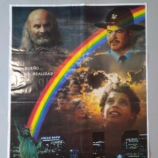Cine: CARTEL CINE ORIGINAL - RAINBOW - BOB HOSKINS - WILLIE LAVENDAHL - AÑO 1995..L3497. Lote 246474980
