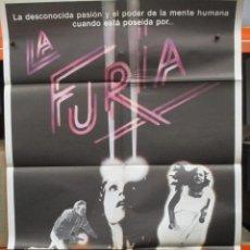 Cine: CARTEL ORIGINAL - LA FURIA - KIRK DOUGLAS - 100 X 70. Lote 246650375