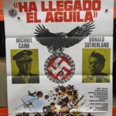 Cinema: CARTEL ORIGINAL - HA LLEGADO EL AGUILA - MICHAEL CAINE - 100 X 70. Lote 246657835