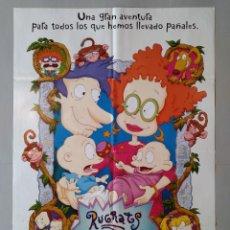 Cine: CARTEL CINE ORIGINAL - RUGRATS, AVENTURAS EN PAÑALES - AÑO 1998...L3506. Lote 246645450