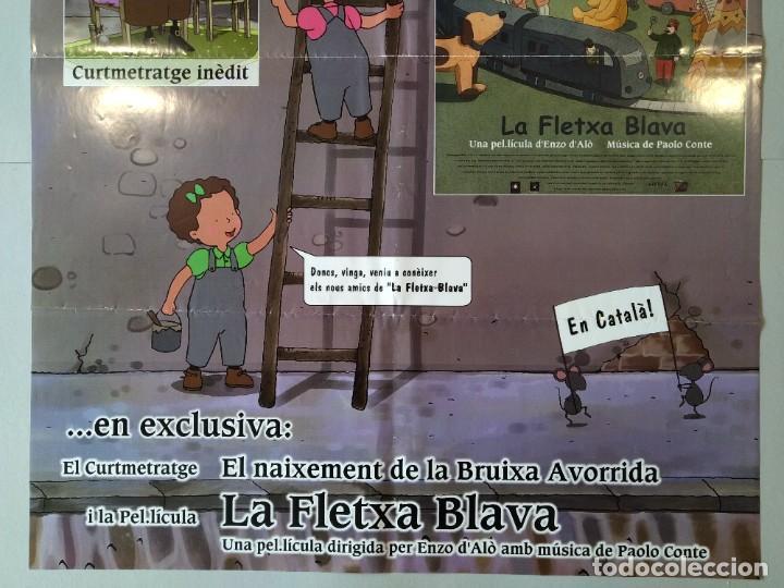 Cine: CARTEL CINE ORIGINAL - LES TRES BESSONES US PRESENTEN...EL NAIXEMENT DE LA BRUIXA AVORRIDA...L3507 - Foto 3 - 246646490