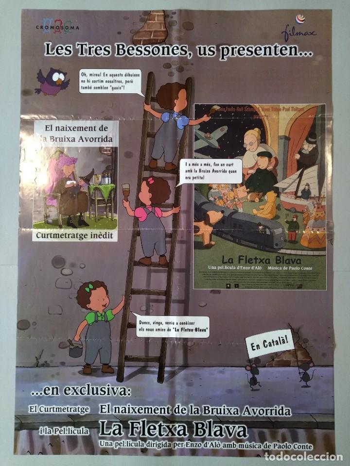 CARTEL CINE ORIGINAL - LES TRES BESSONES US PRESENTEN...EL NAIXEMENT DE LA BRUIXA AVORRIDA...L3507 (Cine - Posters y Carteles - Infantil)