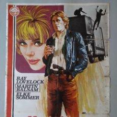 Cine: CARTEL CINE ORIGINAL - MARATHON SUICIDA - RICARDO CUCCIOLLA - ETTORE MANNI - AÑO 1977...L3522. Lote 246704570