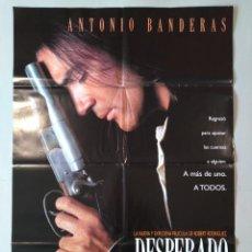 Cine: CARTEL CINE ORIGINAL - DESPERADO - ANTONIO BANDERAS - JOAQUIM DE ALMEIDA - AÑO 1995...L3539. Lote 246849890
