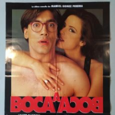 Cine: CARTEL CINE ORIGINAL - BOCA A BOCA - JAVIER BARDEN - AITANA SANCHEZ GIJÓN - AÑO 1995 ...L3540. Lote 246852095