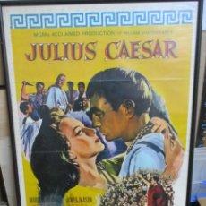 Cine: CARTEL ORIGINAL DE EPOCA - JULIO CESAR - JULIUS CAESAR - MARLON BRANDO - JAMES MASON. Lote 246860180