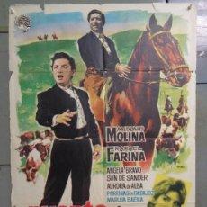 Cine: CDO 9292 PUENTE DE COPLAS ANTONIO MOLINA MAC POSTER ORIGINAL 70X100 ESTRENO. Lote 246864000