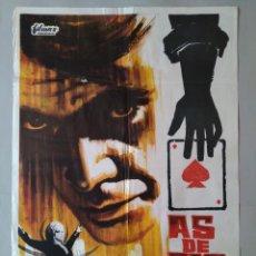 Cine: CARTEL CINE ORIGINAL - AS DE PIC - GEORGE ARDISSON - JOAQUIN DIAZ - AÑO 1966 ...L3550. Lote 247049135