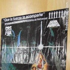 Cine: ANTIGUO POSTER DE LA GUERRA DE LAS GALAXIAS . STAR WARS .. Lote 247079105