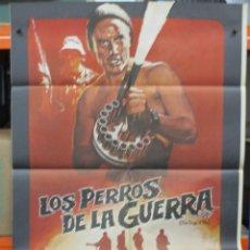 Cine: CARTEL ORIGINAL DE EPOCA - LOS PERROS DE LA GUERRA - CHRISTOPHER WALKEN - TOM BERENGER. Lote 247093130