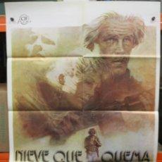 Cine: CARTEL ORIGINAL DE EPOCA - NIEVE QUE QUEMA - NICK NOLTE - 100 X 70. Lote 247093935