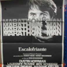 Cinema: CARTEL ORIGINAL DE EPOCA - MARATHON MAN - DUSTIN HOFFMAN - LAURENCE OLIVIER - 100 X 70. Lote 247094545