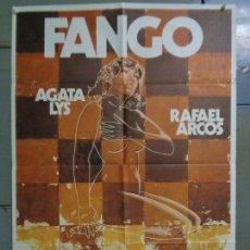 Cinema: CDO 9338 FANGO AGATA LYS RAFAEL ARCOS POSTER ORIGINAL 70X100 ESTRENO. Lote 247135165