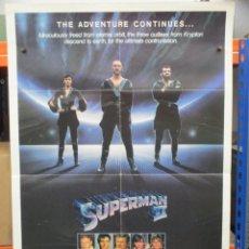 Cine: CARTEL ORIGINAL DE EPOCA - SUPERMAN II - CARTEL PROMOCIONAL - USA - 100 X 70. Lote 247160905