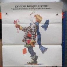 Cine: CARTEL ORIGINAL DE EPOCA - HISTORIAS DE NAVIDAD - 100 X 70. Lote 247166860