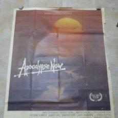 Cine: CARTEL GRANDE FRANCES - APOCALYPSE NOW, MARLON BRANDO, ROBERT DUVALL - AÑO 1980 - 160X120 CM.. Lote 247378805