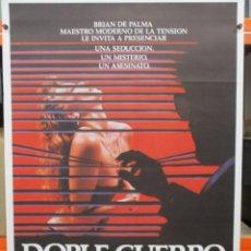 Cinema: CARTEL ORIGINAL DE EPOCA - DOBLE CUERPO - BRIAN DE PALMA 100 X70. Lote 247487725
