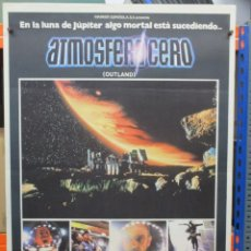 Cine: CARTEL ORIGINAL DE EPOCA - ATMOSFERA CERO - OUTLAND - SEAN CONNERY - 100 X 70. Lote 247493540