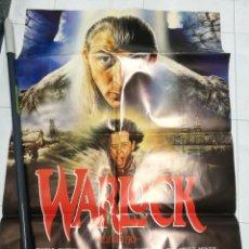 Cine: CARTELES (5 UNIDADES) PELÍCULA WARLOCK (EL BRUJO) 1989. Lote 247572365