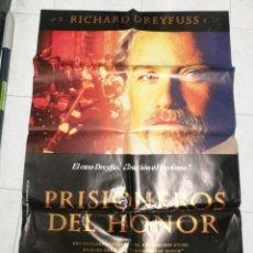 Cine: CARTEL CINE PRISIONEROS DEL HONOR RICHARD DREYFUSS. 1991. Lote 247575790