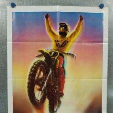Cine: SUPERHOMBRES. ED FORSYTH. MOTOS. AÑO 1983. POSTER ORIGINAL. Lote 248025920