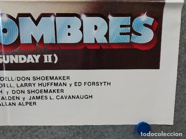 Cine: SUPERHOMBRES. ED FORSYTH. MOTOS. AÑO 1983. POSTER ORIGINAL - Foto 4 - 248025920