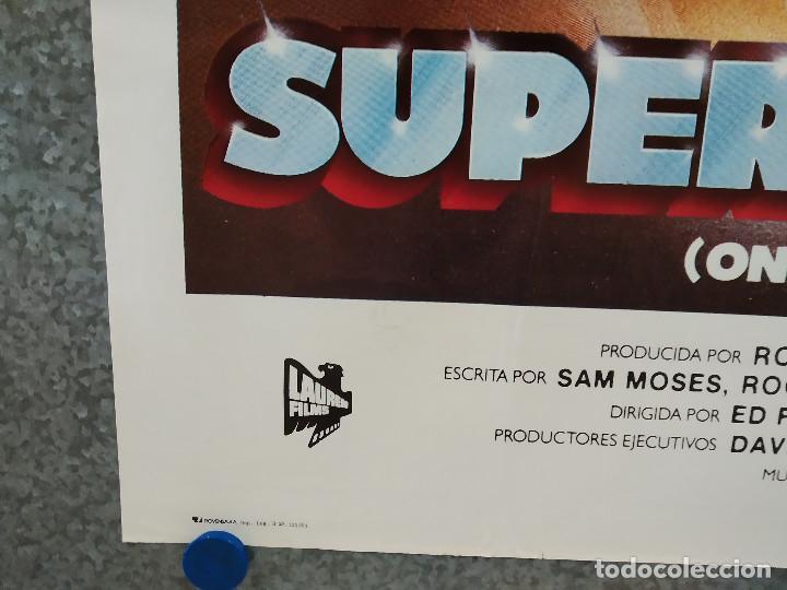 Cine: SUPERHOMBRES. ED FORSYTH. MOTOS. AÑO 1983. POSTER ORIGINAL - Foto 5 - 248025920