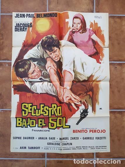 Cine: AAU80 JEAN PAUL BELMONDO COLECCION 17 POSTERS ORIGINALES ESPAÑOLES 70X100 - Foto 3 - 248103395