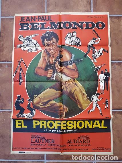 Cine: AAU80 JEAN PAUL BELMONDO COLECCION 17 POSTERS ORIGINALES ESPAÑOLES 70X100 - Foto 4 - 248103395