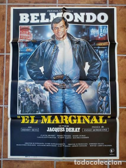 AAU80 JEAN PAUL BELMONDO COLECCION 17 POSTERS ORIGINALES ESPAÑOLES 70X100 (Cine - Posters y Carteles - Acción)