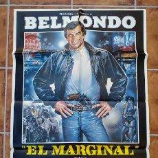 Cine: AAU80 JEAN PAUL BELMONDO COLECCION 17 POSTERS ORIGINALES ESPAÑOLES 70X100. Lote 248103395