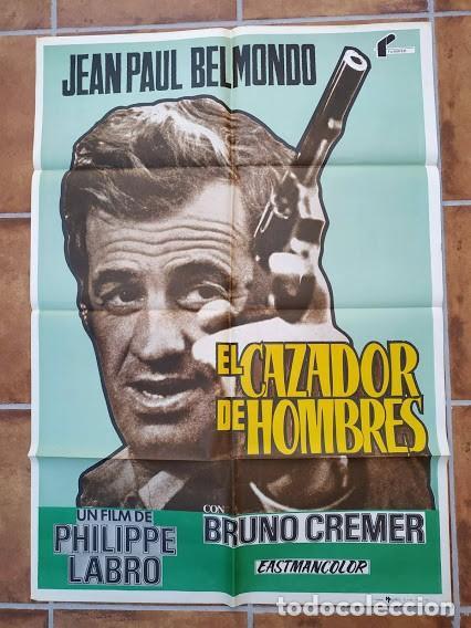 Cine: AAU80 JEAN PAUL BELMONDO COLECCION 17 POSTERS ORIGINALES ESPAÑOLES 70X100 - Foto 6 - 248103395