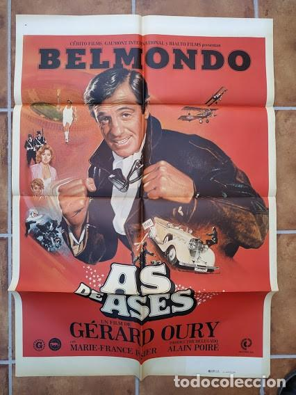 Cine: AAU80 JEAN PAUL BELMONDO COLECCION 17 POSTERS ORIGINALES ESPAÑOLES 70X100 - Foto 7 - 248103395