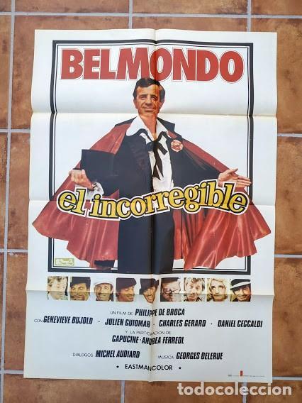 Cine: AAU80 JEAN PAUL BELMONDO COLECCION 17 POSTERS ORIGINALES ESPAÑOLES 70X100 - Foto 10 - 248103395