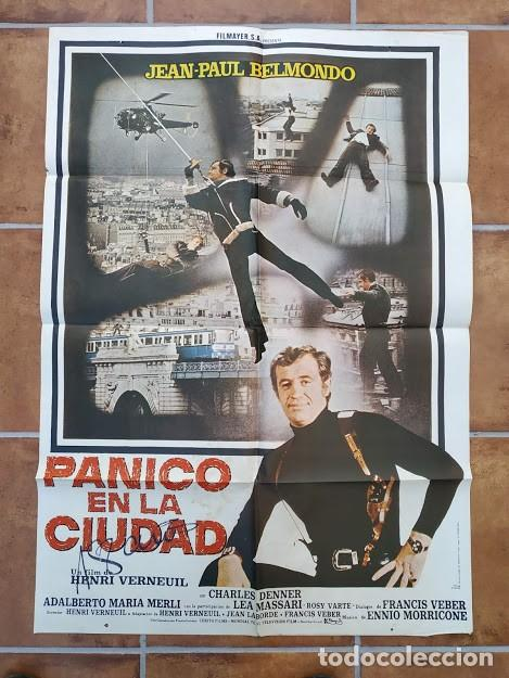 Cine: AAU80 JEAN PAUL BELMONDO COLECCION 17 POSTERS ORIGINALES ESPAÑOLES 70X100 - Foto 12 - 248103395