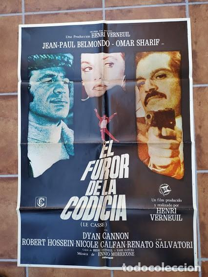 Cine: AAU80 JEAN PAUL BELMONDO COLECCION 17 POSTERS ORIGINALES ESPAÑOLES 70X100 - Foto 13 - 248103395