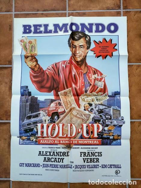 Cine: AAU80 JEAN PAUL BELMONDO COLECCION 17 POSTERS ORIGINALES ESPAÑOLES 70X100 - Foto 15 - 248103395